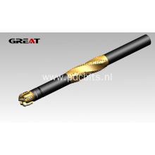 PDC reamers for high quality wellbore
