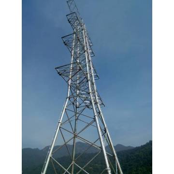 Galvanized Steel Tubular Tower
