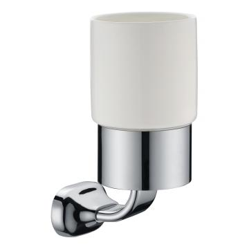 Hotel Bathroom Collection Glass Cup Holder Chrome
