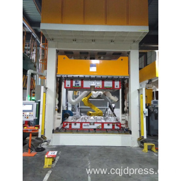 Automobile interior composite material hydraulic press