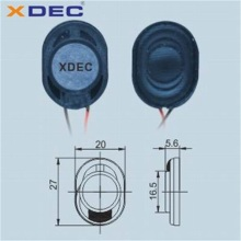 Factory supply full range 4ohm 2w 3w 2027 speaker