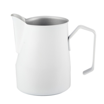 Stainless Steel Milk Cup &Milk Jug  White