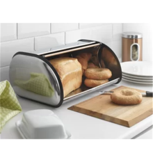 Roll Top Cream Accents Roll Top Bread Bin