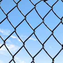 used chain link fence galvanized pvc coated chain link fence price