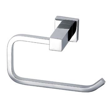 Zinc alloy paper towel rack for toilet