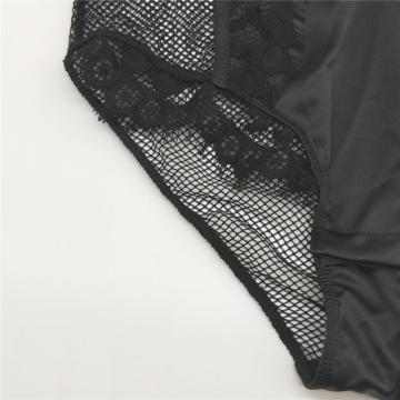 women sexy fashion eyelash lace and fishnet bodysuit
