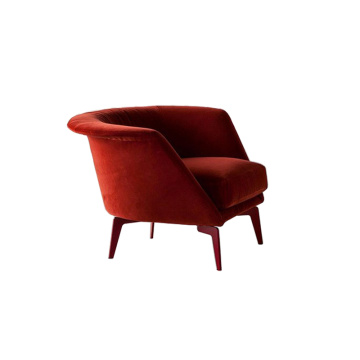 Bonaldo Lovy Fabric Armchair Low Version