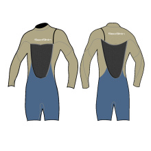 Seaskin 3/2mm Zipper less long Arm Wetsuits
