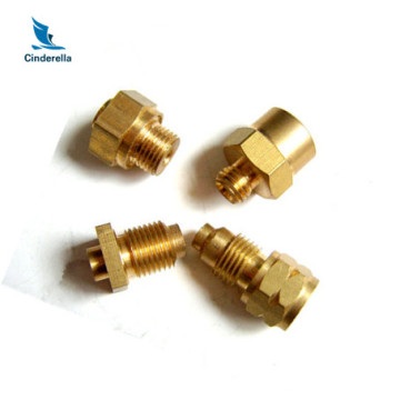 CNC Machined Center Kitchen Ware Brass Parts Processing