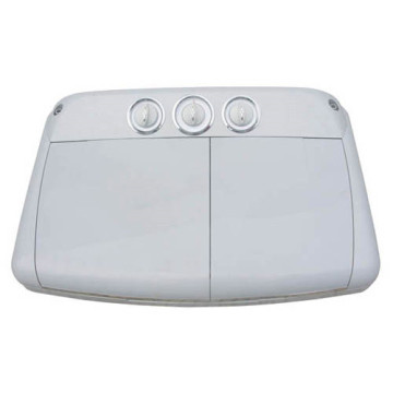 Washing machine control panel plastic mould