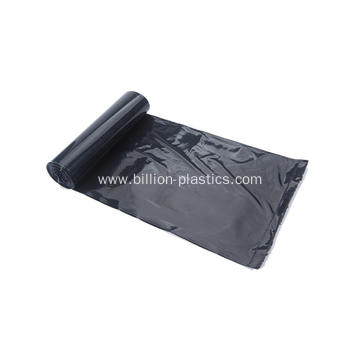 Black Plastic Trash Bag