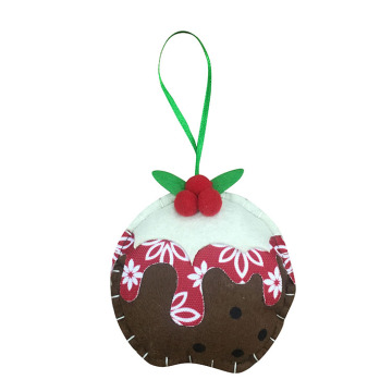 Christmas pudding hanging ornaments