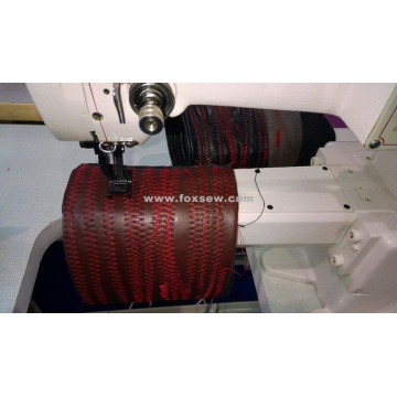 Cylinder Bed Zigzag Sewing Machine for Neoprene