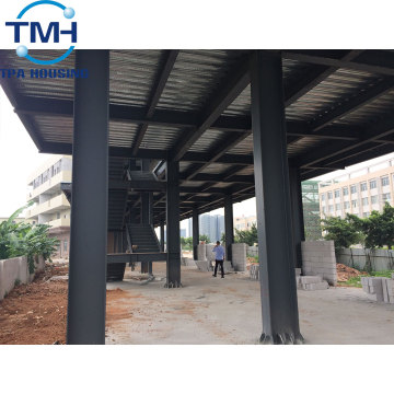 prefab insulated steel structure warehouse factory workshop