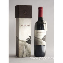 Luxury Gift Packaging Paper Wine Bottle Packaging Box