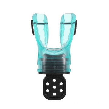 Top quality scuba silicone remodeling snorkel mouthpiece