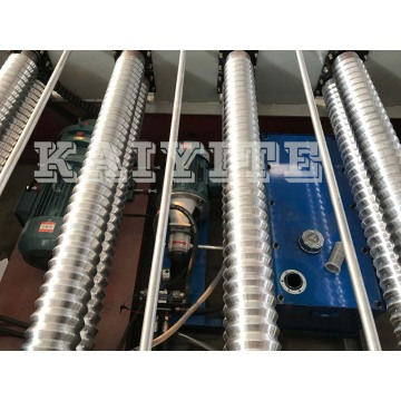 Iron Steel Corrugated  Roll Forming Making Machine