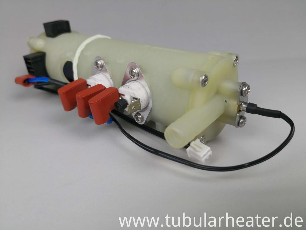 Electric tubular heating element for electric water heater