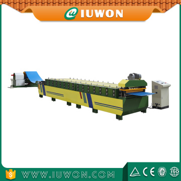 Colored Galvanized Steel Roof Roll Forming Machine