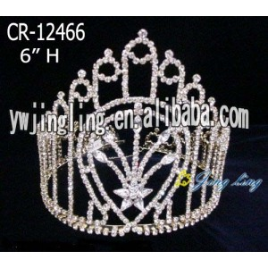 Rhinestone Pageant Crowns CR-12466