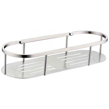 Oval design Brushed shower basket