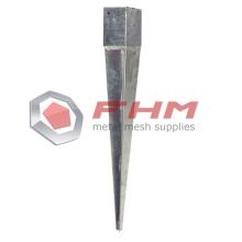 Hot Dipped Galvanized Spike Post Anchor