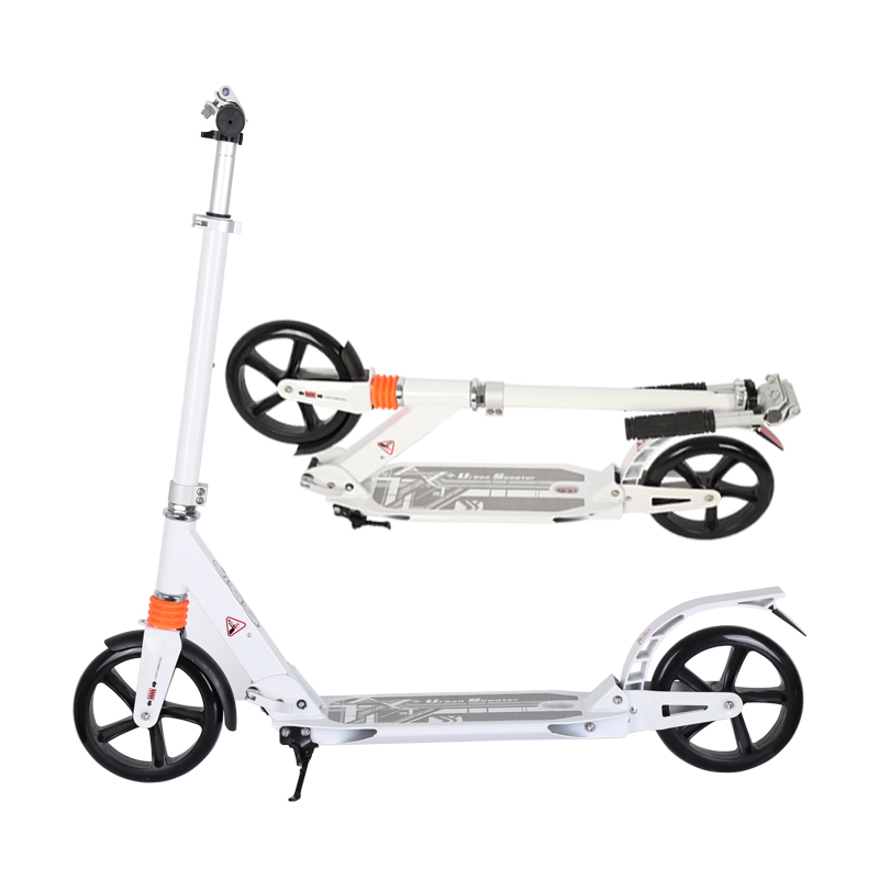 Fold up Kick Push Pedal Scooters for Adults