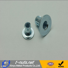 Carbon steel jagged nuts