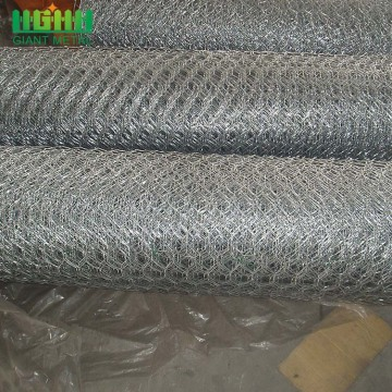 Galvanized Gabion Hexagonal Hole Shape Chicken Wire netting