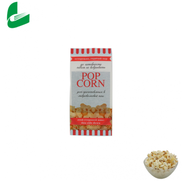 Outside quality microwave packaging custom logo popcorn bags