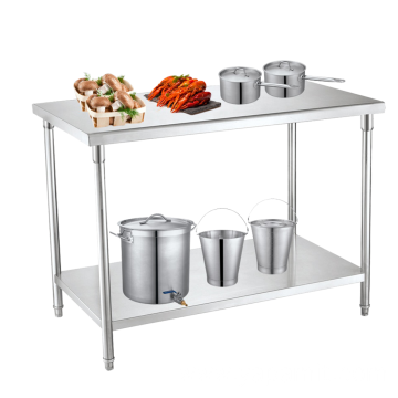 Stainless Steel Two Layer WorkingTable