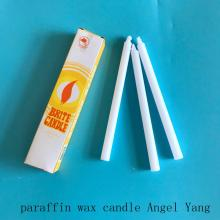 Lae Bright White Wax Candle