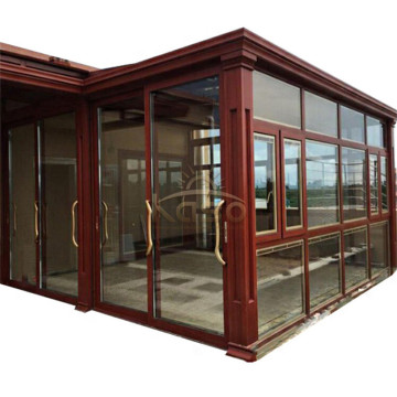 Winter Sun House Aluminum Garden Polycarbonate Sunroom