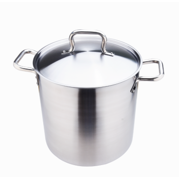 Premium quality heavy duty 18-8 stainless steel stockpots