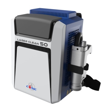 Portable laser cleaning machine
