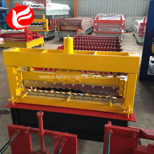 Ibr roof sheet panel corrugated roll forming machine