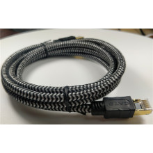 Internet Network Lan Patch Cable Cat 8 Braided
