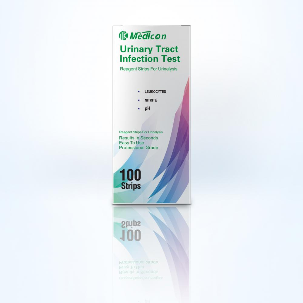 urinary tract infection urine test strip 3 parameter