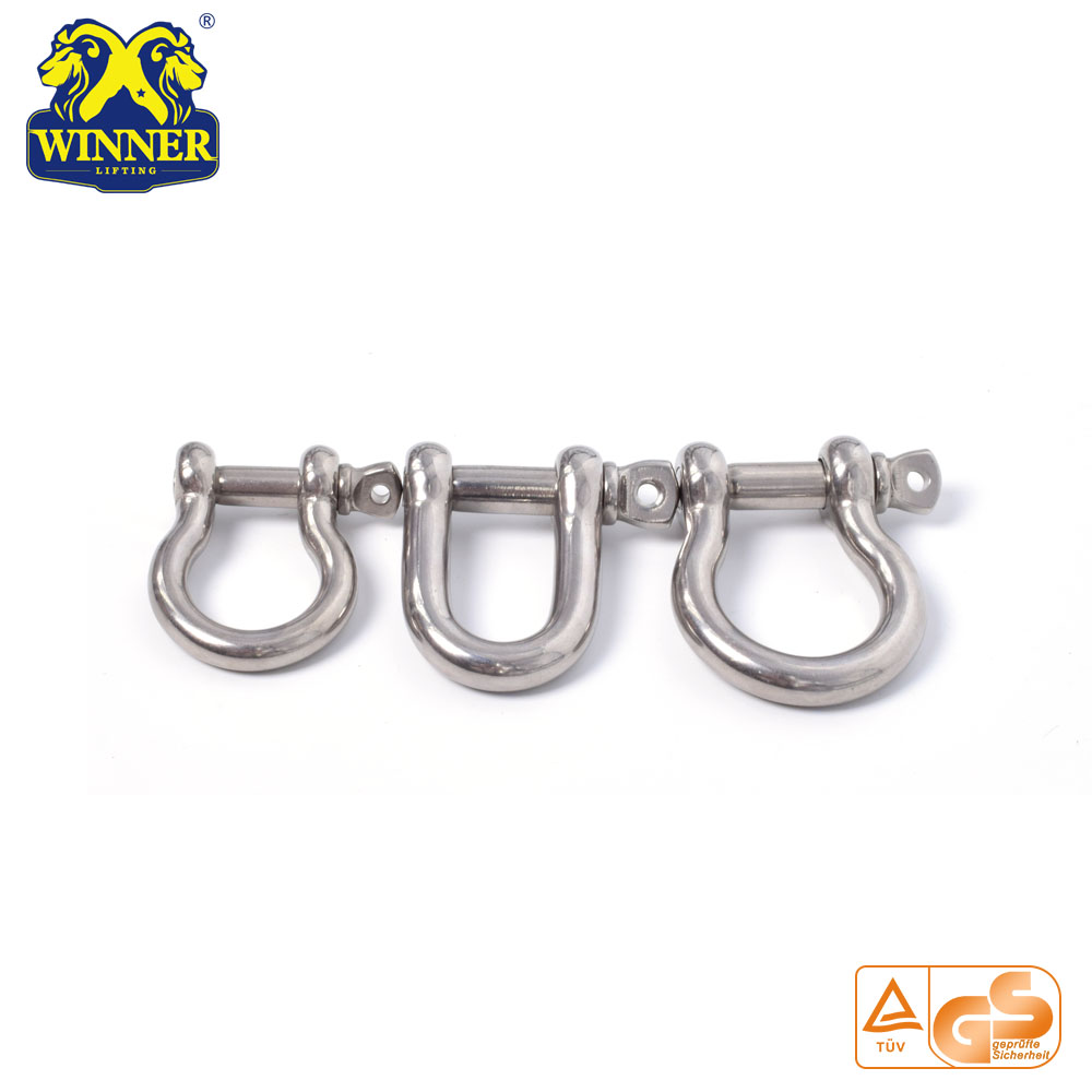 U Stainless Steel Paracord Bracelet Shackle