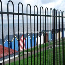 PVC coated curved top fence
