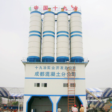 HZS60 commercial Alibaba Myanmar concrete batching plant