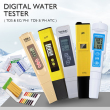 Professional PH Meter Water Quality Tester TDS/PH/EC Tester Temperature Tester Pen Conductivity Water Quality Measurement Tool