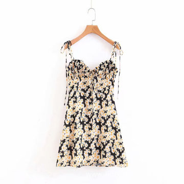 Women's Summer Printed Floral Dress