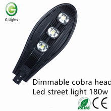 Dimmable Cobra Head 180w LED Street Light