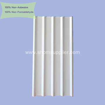 Iron Crown Waterproof Sound-insulation MgO Roofing Sheets