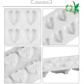 Custom Heart Shape Silicone Cake Chocolate DIY Mold