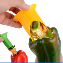 Kitchen Tools Pepper Core Remover Household Goods Kitchen Plastic Corer Cooking Utensils Vegetable Cutter Cuisine for Kitchen.8z