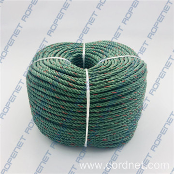 3 Strands PP PE Recycled Materials Mooring Rope