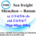 Shenzhen International Shipping Agent to Batam