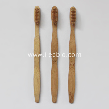 Compostable toothbrush bamboo Carvable LOGO